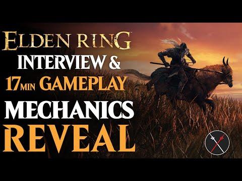 Elden Ring New Gameplay Breakdown & Impressions, New Mechanics Revealed! PvP, Crafting, MAP!