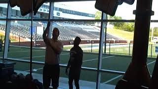 Myles Campbell - Georga Southern 2018 Pro Day - 37.5 Vertical Leap