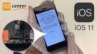 Активації iPhone 5s на iOS 11 - Activation error 0xE8000013