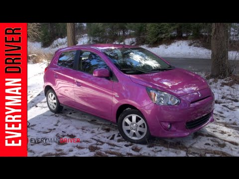 Here's the 2014 Mitsubishi Mirage Review on Everyman Driver