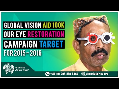 Global Vision Aid 100K Cataract Surgeries
