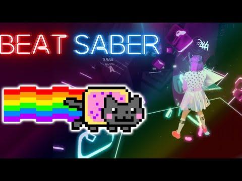 Nyan Cat In BEAT SABER!