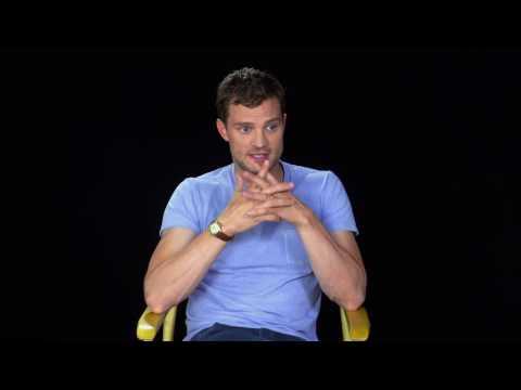 """Fifty Shades Darker """"Christian Grey"""" Interview - Jamie Dornan"""