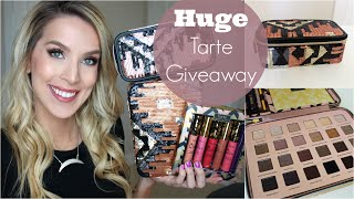 HUGE Tarte Holiday Makeup Giveaway ♡ 5 YR Youtube Birthday!