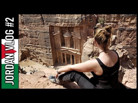 PETRA BLEW MY MIND! PUT THIS ON YOUR BUCKET LIST, NOW! | Jordan Travel Vlog #2