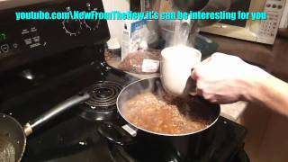How to cook buckwheat with meat recipe (one of Russian traditional food )