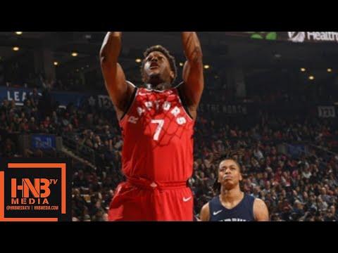 Toronto Raptors vs Memphis Grizzlies Full Game Highlights / Feb 4 / 2017-18 NBA Season