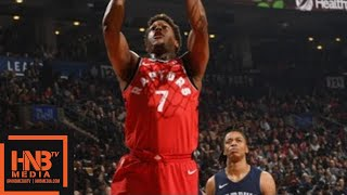 Toronto Raptors vs Memphis Grizzlies Full Game Highlights / Feb 4 / 2017-18 NBA Season