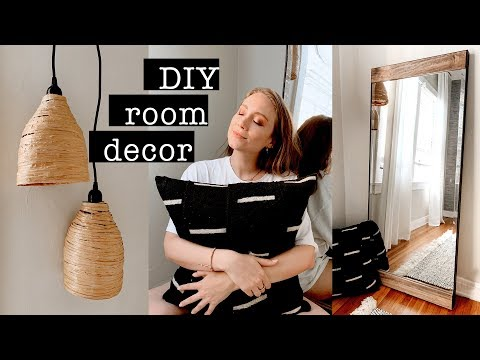 DIY ROOM DECOR // Extreme Bedroom Makeover PART 1