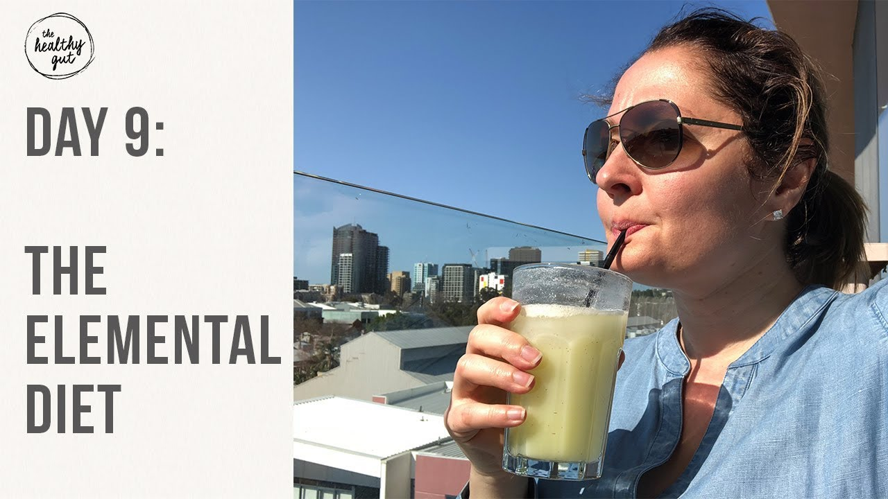 can you drink alcohol on an elemental diet?