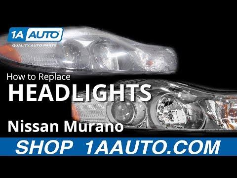 How to Replace Headlight Assemblies 09-14 Nissan Murano