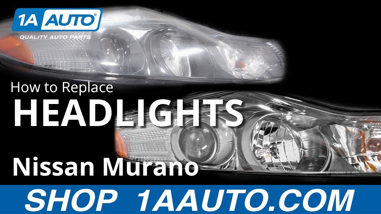 2009 nissan murano hid headlights