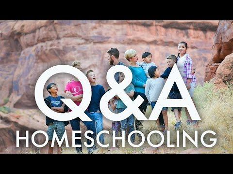 Q & A : HOMESCHOOLING OUR BIG FAMILY : RV Fulltime w/9 kids