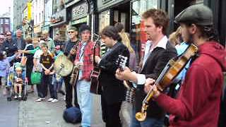 Donegal brilliance busking in Galway!!!!!