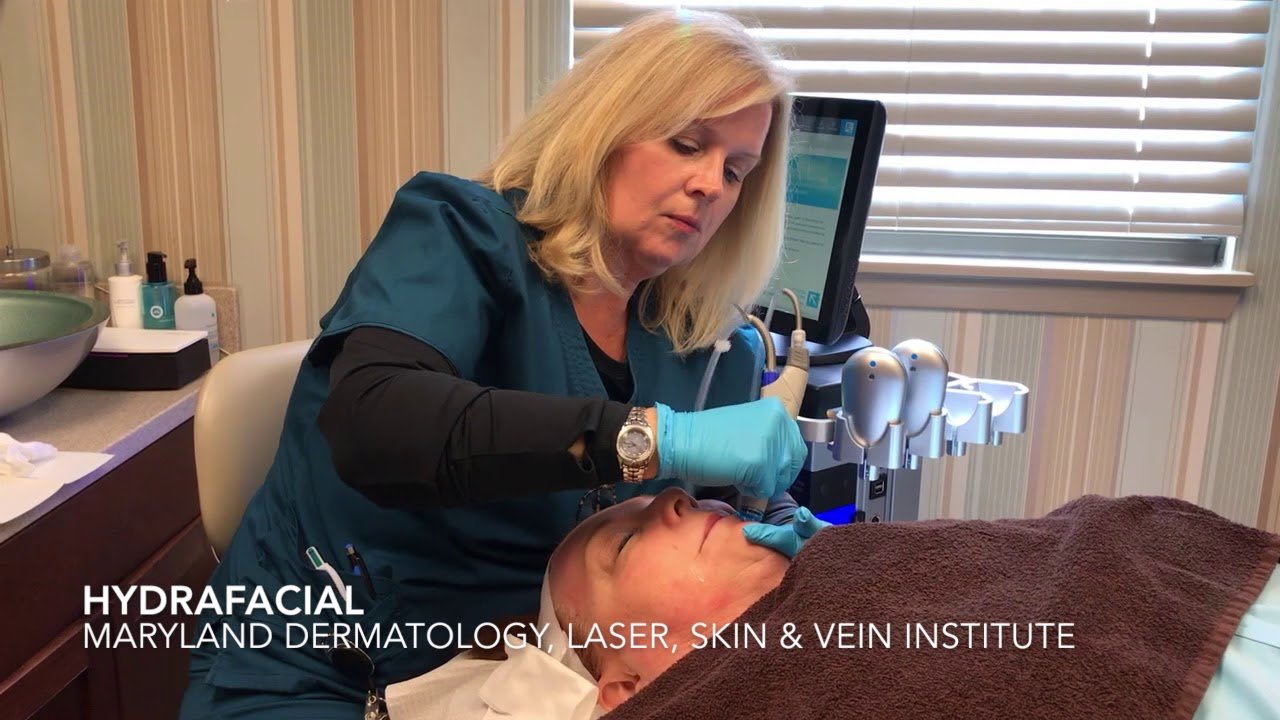 HydraFacial at Maryland Dermatology Laser Skin & Vein Institute