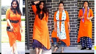 #style #howto #kurti  6 Different ways to style kurti  sassysaania