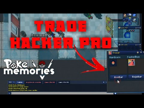 TRADE HACKER ( POKE MEMORIES )  UNICO FUNCIONAL 2020
