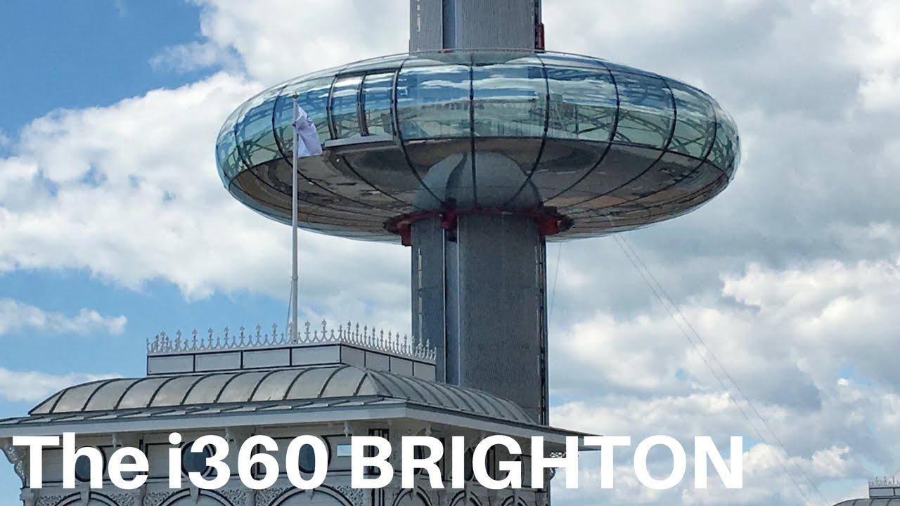 A ride on the BA i360, Brighton, UK - YouTube