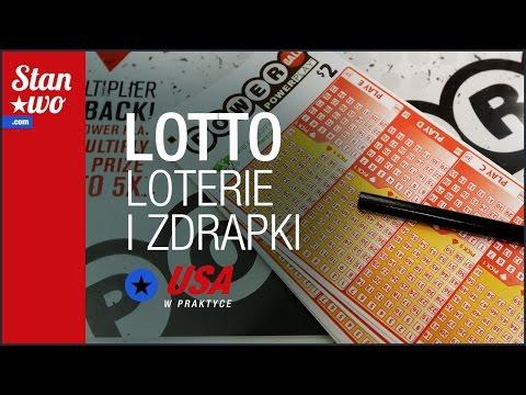 Lotto - Loterie i Zdrapki - USA w praktyce #32