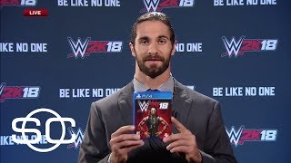 WWE Superstar Seth Rollins Reveals Cover Of WWE 2K18 | SportsCenter | ESPN