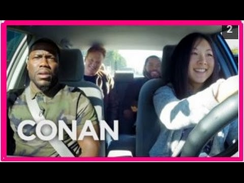 Actor Ice Cube, Kevin Hart And Conan Help A Student Driver