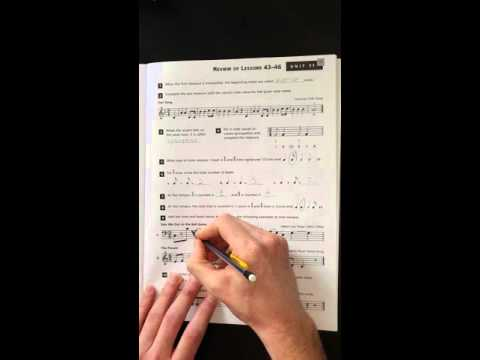 Alfreds Essentials of Music Theory Unit 11 Review
