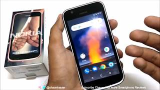 Nokia 1 (Android Go) - Unboxing and First Impressions