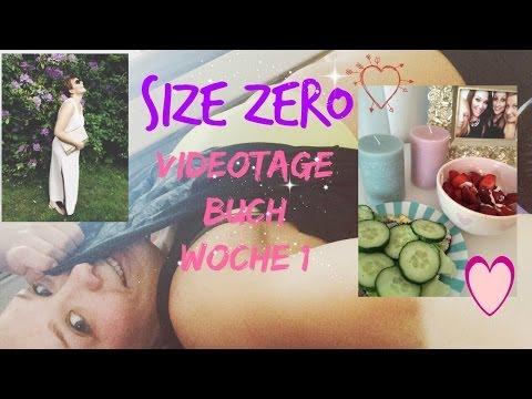 """""""SIZE ZERO"""" Videotagebuch Woche 1"""