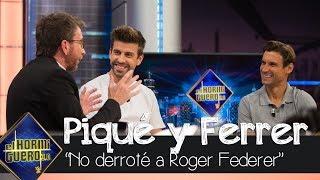 David Ferrer frustrado por no haber derrotado a Roger Federer en su carrera - El Hormiguero 3.0