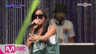 [Korean Reality Show UNPRETTY RAPSTAR2] Track#2 Team Battle Stage l Kpop Rap Audition  EP.02
