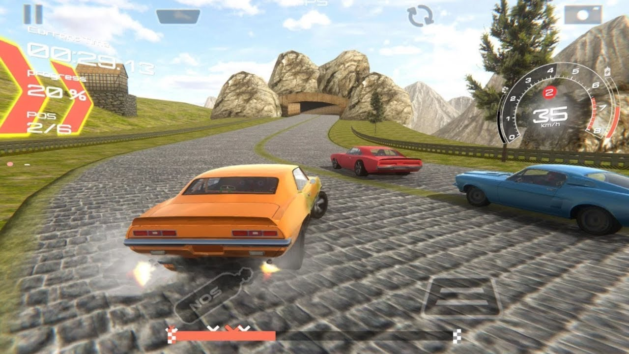 Speed Muscle Car Racing 3d Android Gameplay Hd New Car Games For