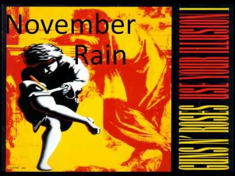 Guns N' Roses – November Rain (Use Your Illusion I)