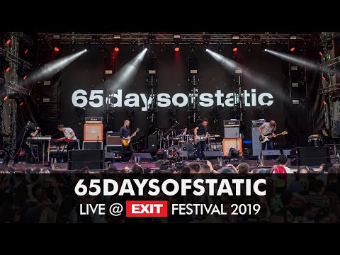 EXIT 2019 | 65daysofstatic Live @ Main Stage FULL SHOW
