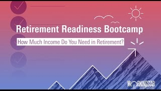 How Much Will You Spend in Retirement?