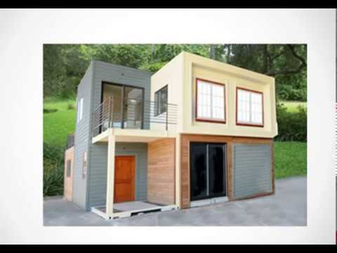 how to build a container home - low cost home - simple house - youtube