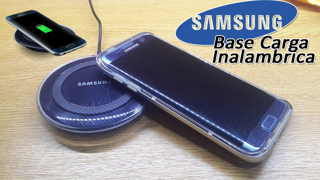 7c98be3d18d UNBOXING BASE CARGA INALAMBRICA SAMSUNG - YouTube