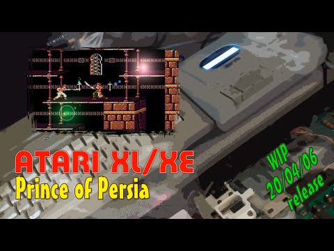 Atari XL/XE -=Prince of Persia=- WIP 20/04/06