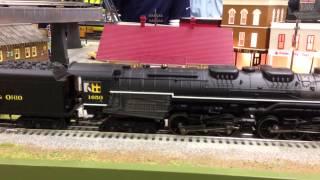 mth 30 1612 1 2 6 6 6 imperial allegheny steam engine chesapeake ohio