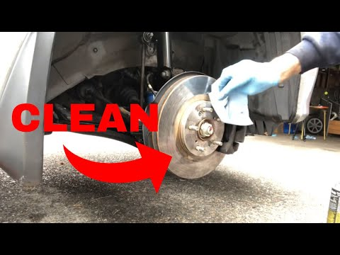 Why Brake Rotors MUST BE CLEAN (+ Cleaning Safety Tips) | Handy Hudsonite