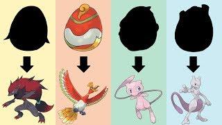 Pokemon Eggs Requests #10: Ho-Oh, Mew, Mewtwo, Zoroark