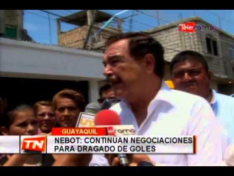 Nebot: Continúa negociaciones para dragado de goles