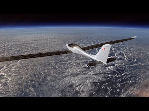 Flying to the edge of space using only solar power
