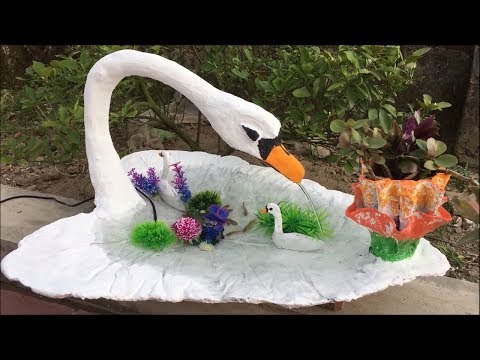 Creative Ideas with Cement For Garden | Making Small Fish Tank and Flower Pots | Beautiful and easy