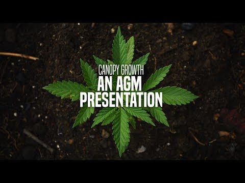 Canopy Growth Corporation AGM 2017