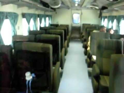 Pakistan Railways 28Dn Shalimar Express Interior - YouTube
