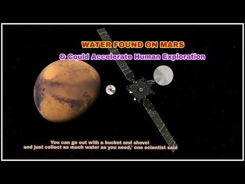 Drinkable pure Water ice found On Mars & Could Accelerate Human Exploration, NASA