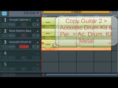 Magix Music Maker Tutorial - How to make a Metal Song