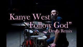 """Eugene Novik - Kanye West """"Follow God"""" Drum Cover Video"""