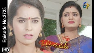 Manasu Mamata | 11th October 2019  | Full Episode No 2723 | ETV Telugu