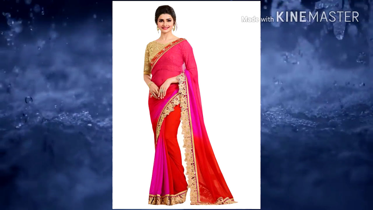 fd328be9f15 Fancy Sarees Designs Latest | Fancy Saree Blouse Designs 2017